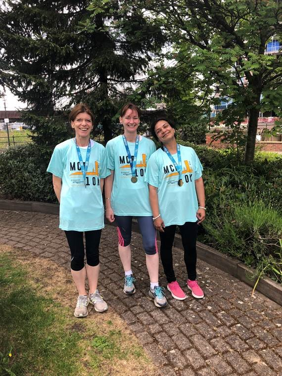 Sandra Sarah and Lucky GM RUN 2019