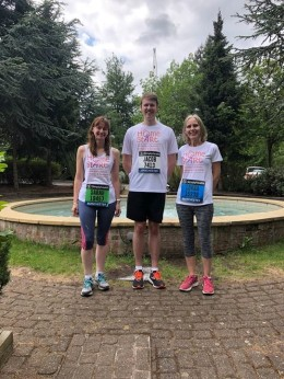 Sarah Jacob & Lorna RUN 2019